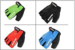 Bicycle mercerized cotton | Cycling Gloves | MTB short fingerless gloves | shockproof breathable | Genuine