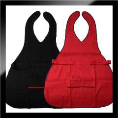Free shipping Single face apron barber apron work wear work wear barber cloth
