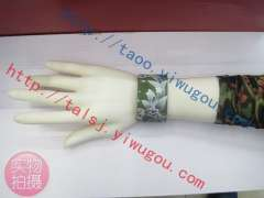 Three-dimensional relief effect flowers skull series of color printing leather bracelet