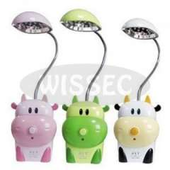 Cow 15 LED Super Capacity Rechargeable Desk Lamp