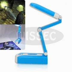 YG-3969 Rechargeable Foldable 27 LED Lights Reading Desk Lamp-Blue