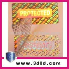 Laser Anti-counterfeiting Label