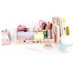 Korean cute DIY Desktop sorting box / storage box | Random Color