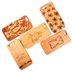 JACKLEO phone protective shell wooden