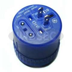 Universal Travel Adapter with power indicator, with children safety shutter