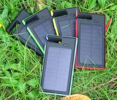 12000mah Dual USB Portable Solar Panel Power Bank Battery Charger
