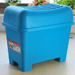 2011 waterproof plastic storage stool / changing his shoes stool - trumpet
