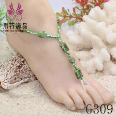 sexy barefoot, party barefoot, anklet jewelry 2013, beach jewelry