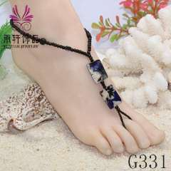 high quality beach anklet, shell anklet, jewelry anklet, barefoot sandals