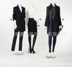Clothing display props | mannequins | headless body upscale female model | high-gloss white split mold