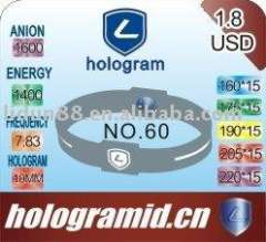 2011 Ion Silicone Energy Bracelet in Hologram