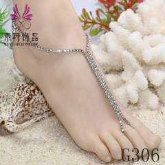 alloy anklet jewelry, beach jewelry anklet, party barefoot, fashion anklet jewelry 2013
