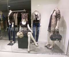 Guangzhou display window display mannequins female body model mannequin personalized custom combination