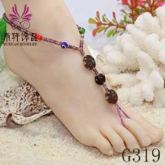 wholesale handmade jewelry, anklet 2013 jewelry, party barefoot, beach anklet
