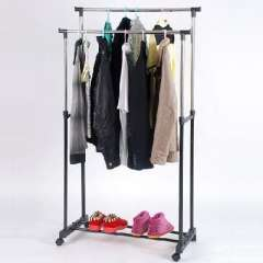 A Code stainless steel lift mobile drying racks / folding drying rack - double pole
