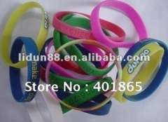 2012 London-Olympic and Latest-style silicone rubber bands 100%silicone elegant and fashionable
