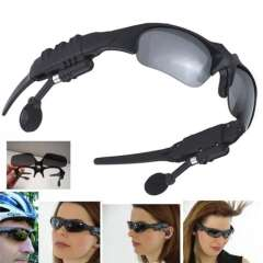 Wireless Stereo Bluetooth Sunglasses Polarized Eyeglasses Headset For Smartphone