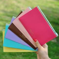 Korea stationery dazzle fashion leather edge bags paper bags file bag Small