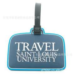 Essential travel luggage tag | Bag Accessories | PVC silicone material luggage tag | mass production of customized welcome