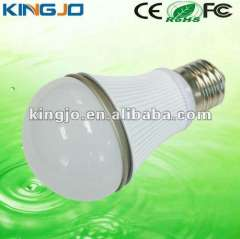 High Quality white with aluminum heat sink E27 5w led bulb