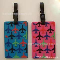 Essential travel luggage tag airplane luggage | a lot made of plastic luggage tag | pretty fine | Korean version of quality