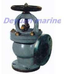 Marine Cast Steel Flanged Angle Stop Valves