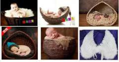 2014 Photography props props studio props baby basket Photography props baby basket