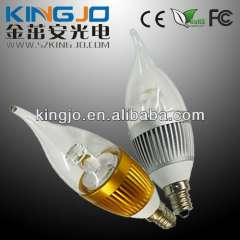 Led Candle Lights 1W Led Candle Light E12\E14\E26\E27 Mini Light