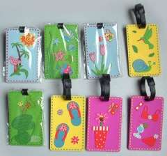 (Dongguan factory custom wholesale) Silicone luggage tag | luggage tag tag | soft luggage brand
