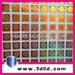 Customized hologram Sticker, holograms
