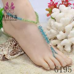 2013 latest chram anklet jewelry, fashion crystal anklet, beaded anklets
