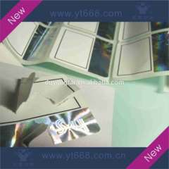 Hot stamping paper label wth hologram