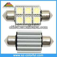 Festoon led bulb for car
