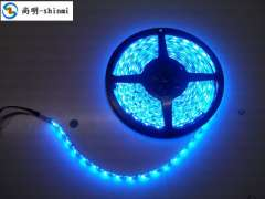 12VLED Epoxy waterproof light strip lights with colorful beads RGB5050 60 counter soft light