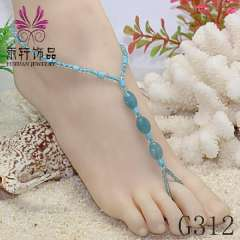 barefoot sandals, party barefoot, beach foot jewelry, beach anklets