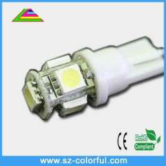 High brightness with fast deliver T10 5SMD5050 csl auto led light bulb led auto lamp high power auto led 12v bulb