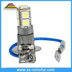 H1 9pcs 16-18lm high brightness led fog light kits