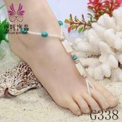beach jewelry fashion anklet 2013, barefoot jewelry, beach wedding bridal barefoot sandals