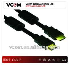 2013 the newest of 1.4v black HDMI cable