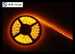 Yellow 3528LED flexible light strip | 3528 Epoxy waterproof LED light bar | Outdoor Advertising, LED Strip Light