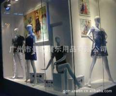 FRP fiberglass mannequins | female body | White | model aircraft | clothing store clothing shelf | sit molding station