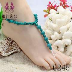 Newest wholesale anklet jewelry, bridal foot jewelry, sexy beach anklet