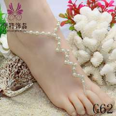 G62 the biggest anklet manufacturer, fashion beads anklet, handmade jewelry