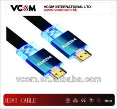 flat bule Hdmi cable