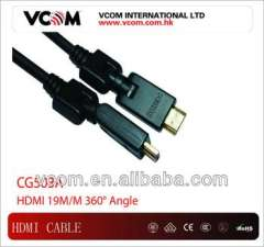 high speed HDMI cable19pin male to male