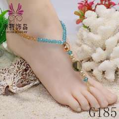 caribbean blue foot jewelry, wholesales jewelry, anklet fashion sexy jewelry