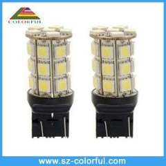 factory supply high quality 7440 7443 T20 16-18lm 24pcs 5050smd led car lamp