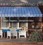 Retractable awnings, awning factory, manual sunshades, sunshades agent