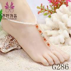 bridal foot jewelry beach jewelry, crystal foot jewelry, barefoot sandals 2013 popular