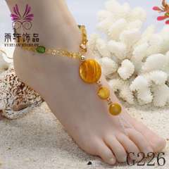 shell anklets, fashion anklets, charm anklets, jewelry anklet